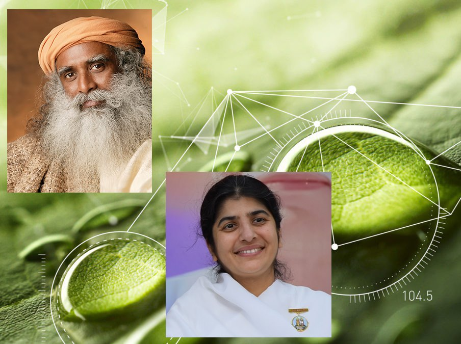 SADHGURU, HIS WATER AND ITS MEMORY